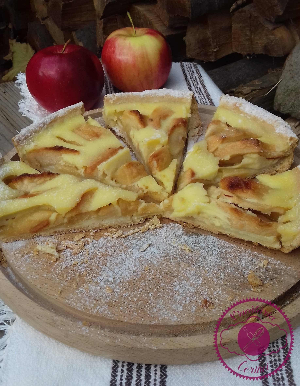 """Tarta cu mere ,,Maman Blanc"""""""